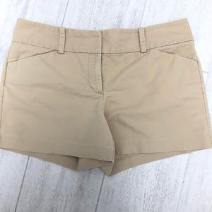 Shorts Ann Taylor Sz 12 Tan Ladies 3/$25